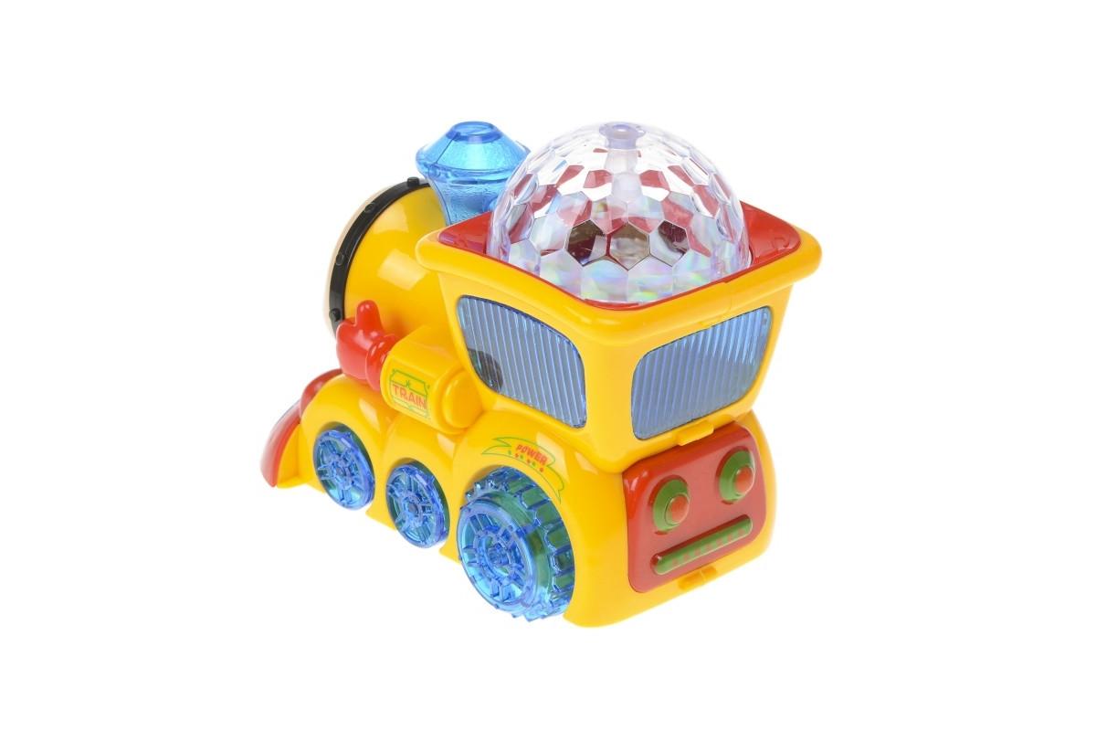 Музыкальная игрушка Паровозик Томас 388-4
