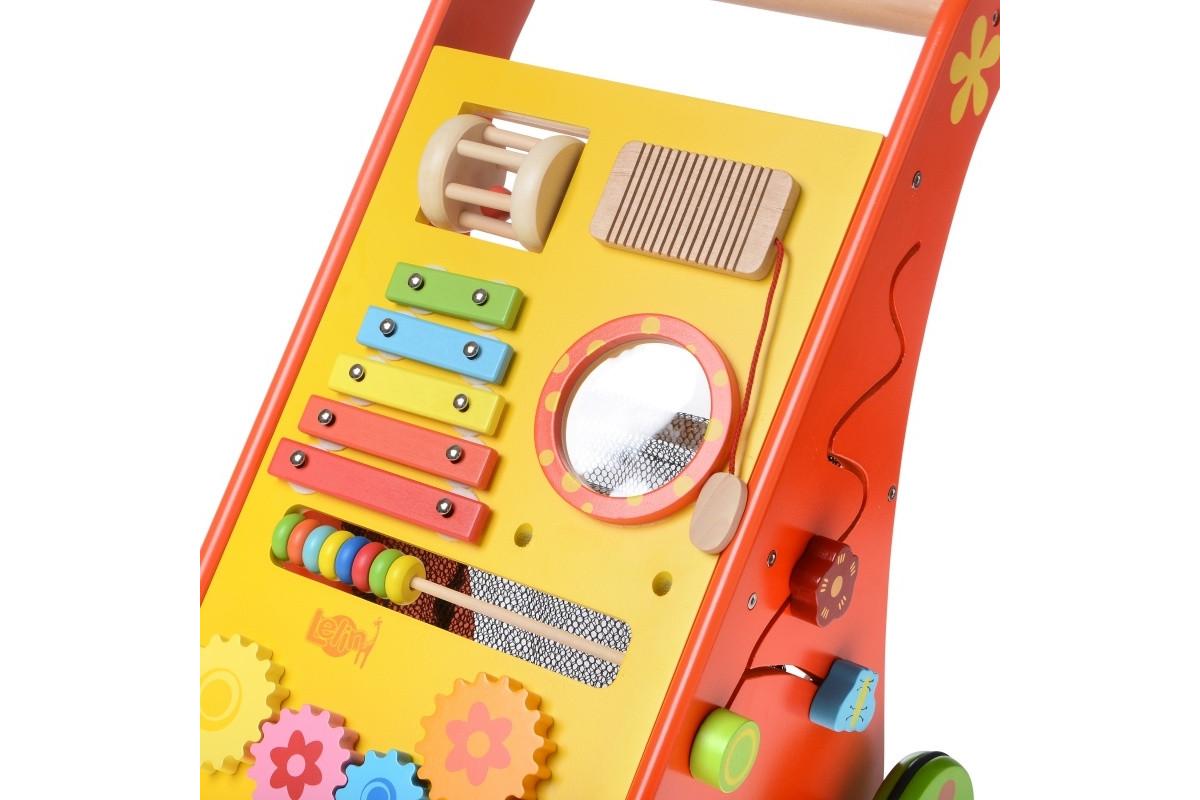 Развивающая деревянная игрушка Ходунки 9 в 1 IE172