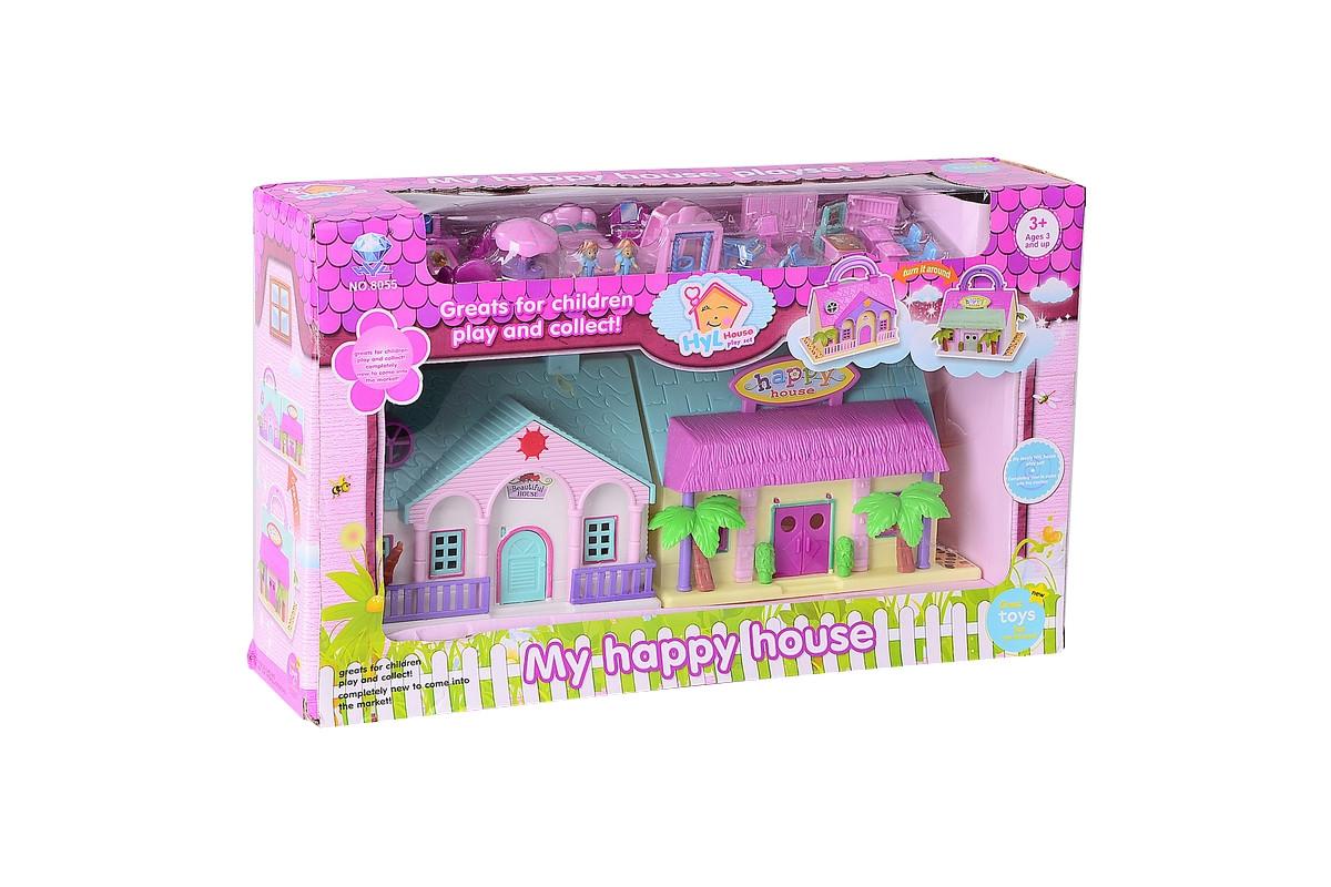 Игровой набор Кукольный домик с площадкой IM353
