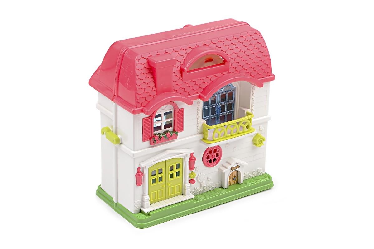 Игровой набор Кукольный домик с фигурками IM440