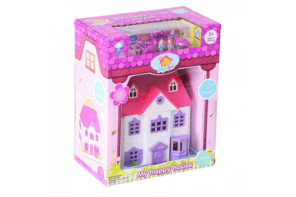 Игровой набор Кукольный домик с бассейном IM349