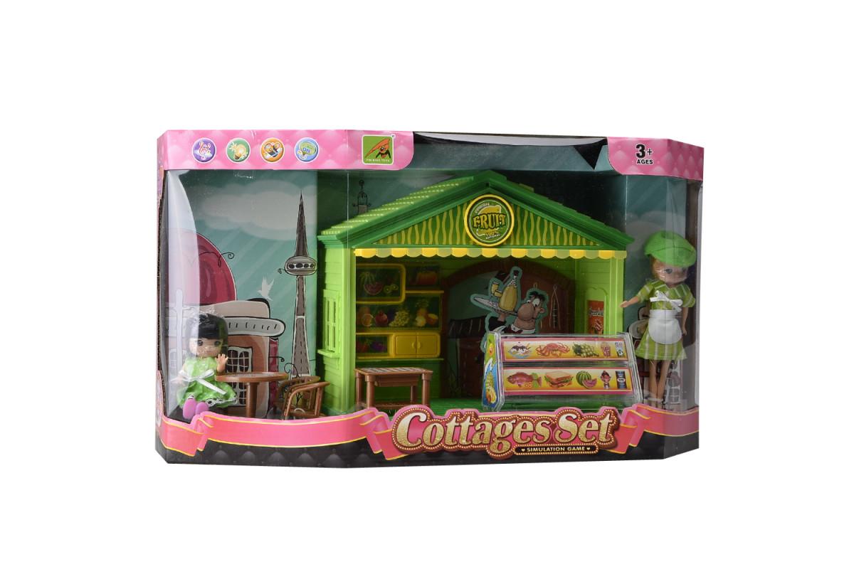 Игровой набор домик для куклы Кофейня IM370