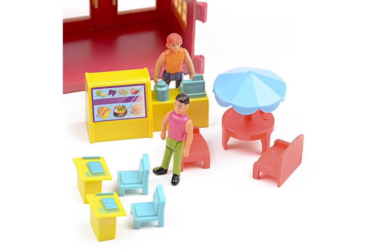 Игровой набор домик для куклы Ресторан IM416