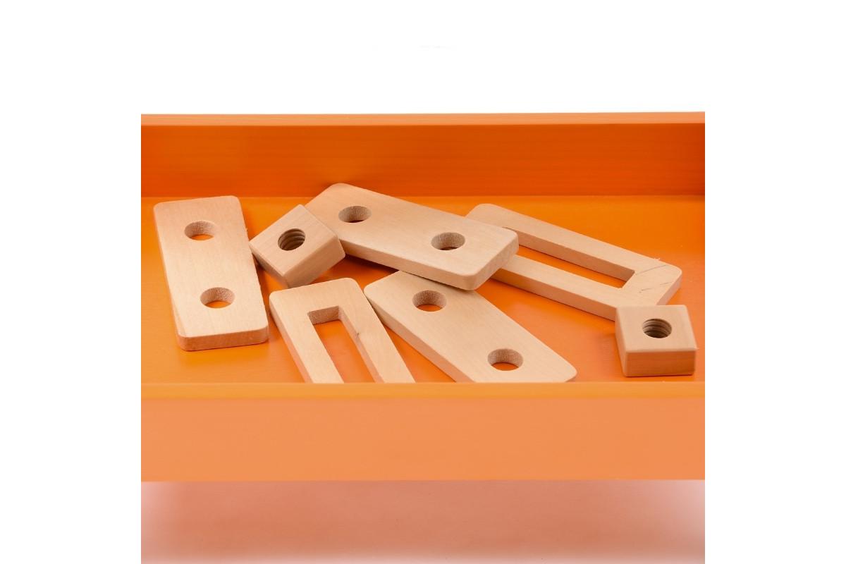 Игровой набор деревянный столярный верстак IE181