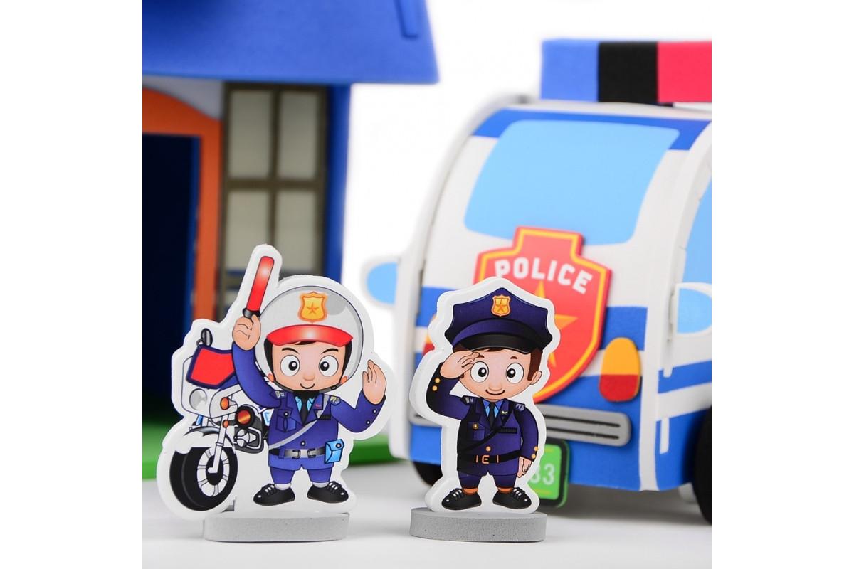 3D Пазл полицейский участок IE511