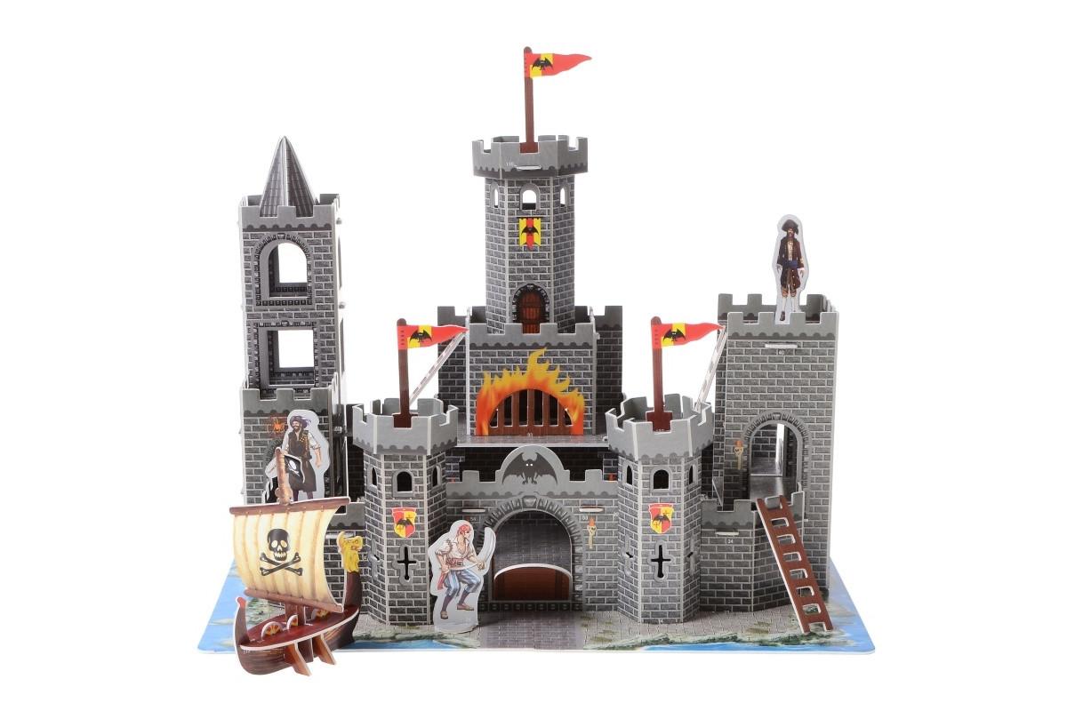 3D Пазл Замок пиратов IE13