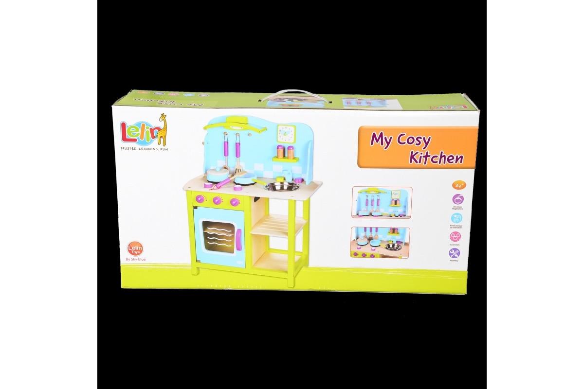 Игровой набор Деревянная детская куxня IE579