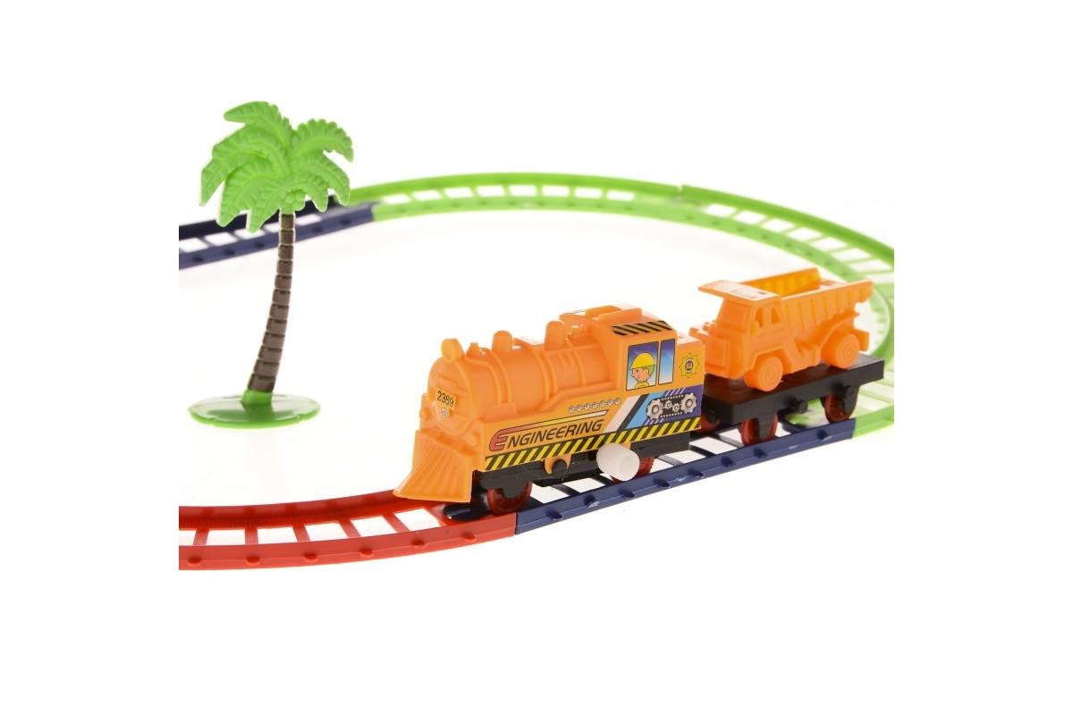 Заводная железная дорога. Строители IM59A1