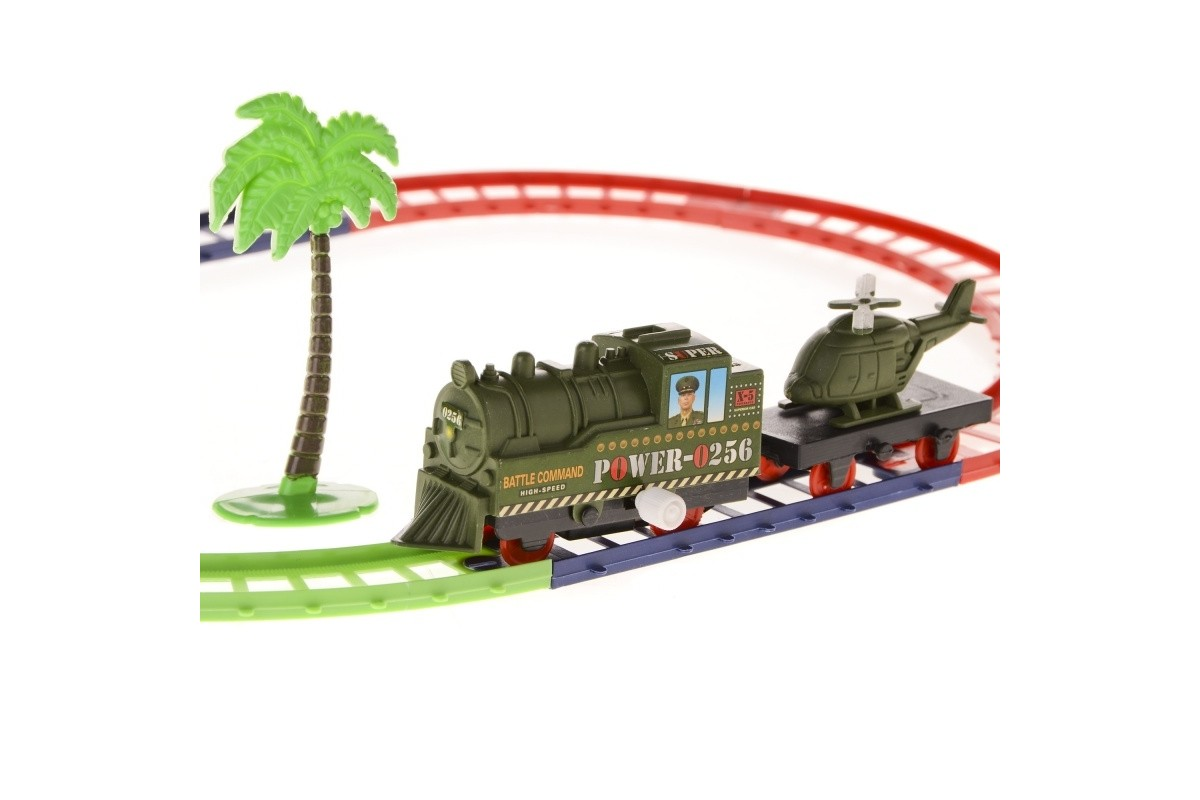 Заводная железная дорога. Военные IM59D