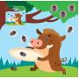 Детская книга аппликаций Веселые малыши