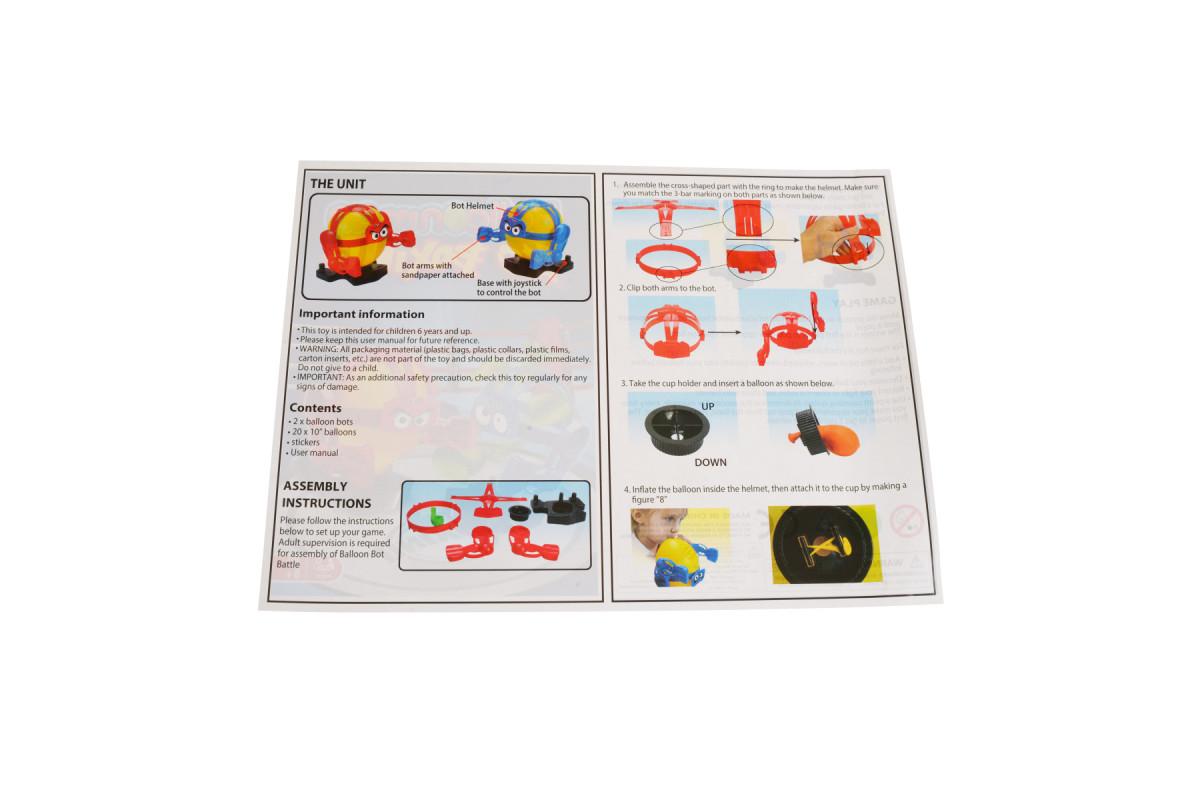 IE496 Настольная игра «Бокс воздушными шариками»