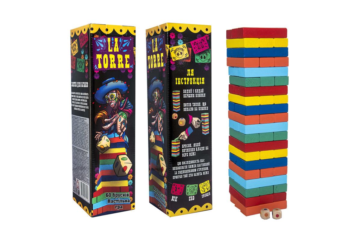 Игра 30758 (укр.) La Torre, в коробке 31-8-8 см
