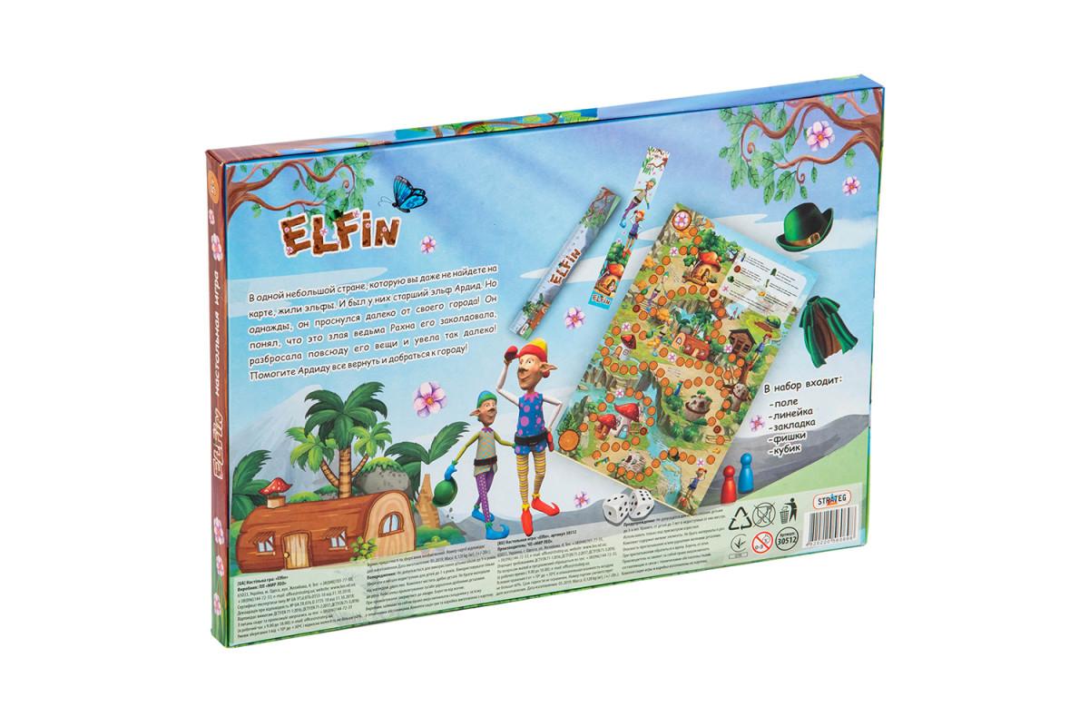 Игра 30512 (рус.) Elfin, в коробке 37-25,5-2 см