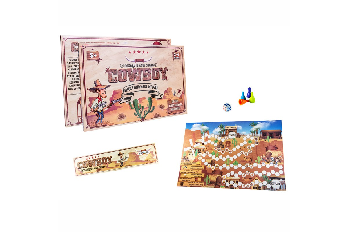 Игра 30314 (рус.) Cowboy, в коробке 37-25,5-2 см